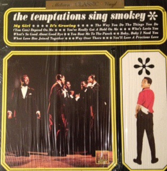 #<Artist:0x007f338b0b8068> - The Temptations Sing Smokey