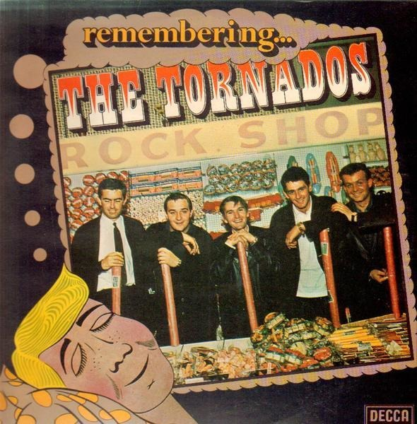 THE TORNADOS - Remembering... The Tornados - LP