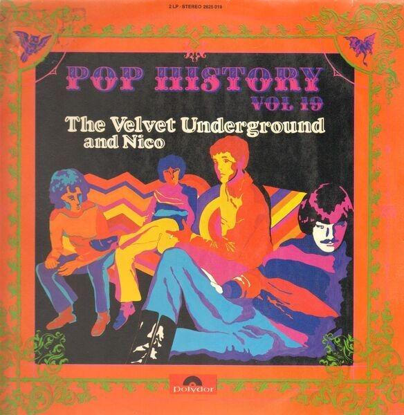 THE VELVET UNDERGROUND & NICO - Pop History Vol. 19 - LP x 2