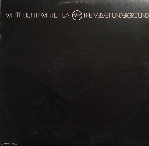 THE VELVET UNDERGROUND - White Light/White Heat (BLACK LABEL US VERVE) - LP