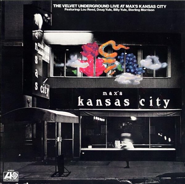 THE VELVET UNDERGROUND - Live At Max's Kansas City (MONO) - LP