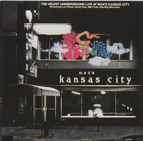 THE VELVET UNDERGROUND - Live At Max's Kansas City - CD