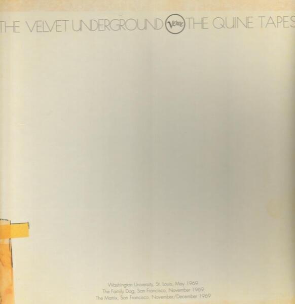 #<Artist:0x00007fce8c76f540> - The Quine Tapes V.1-3
