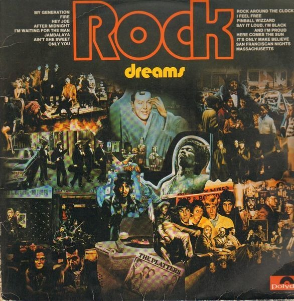 THE WHO, JAMES BROWN, VELVET UNDERGROUND, A.O. - Rock Dreams - LP