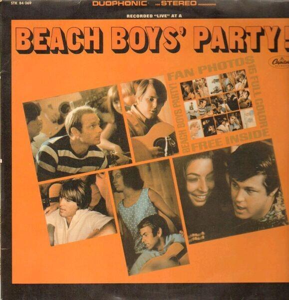 #<Artist:0x007fca3badae78> - Beach Boys' Party!