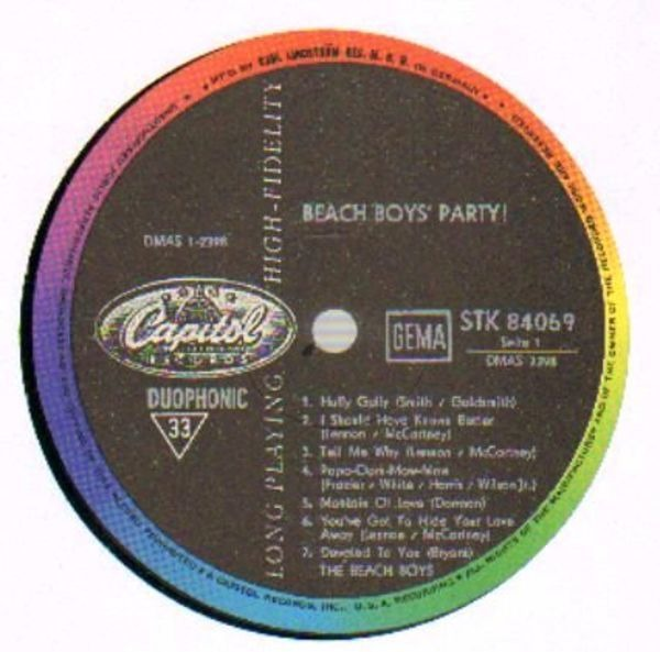 #<Artist:0x007fafb2e62f80> - Beach Boys' Party!