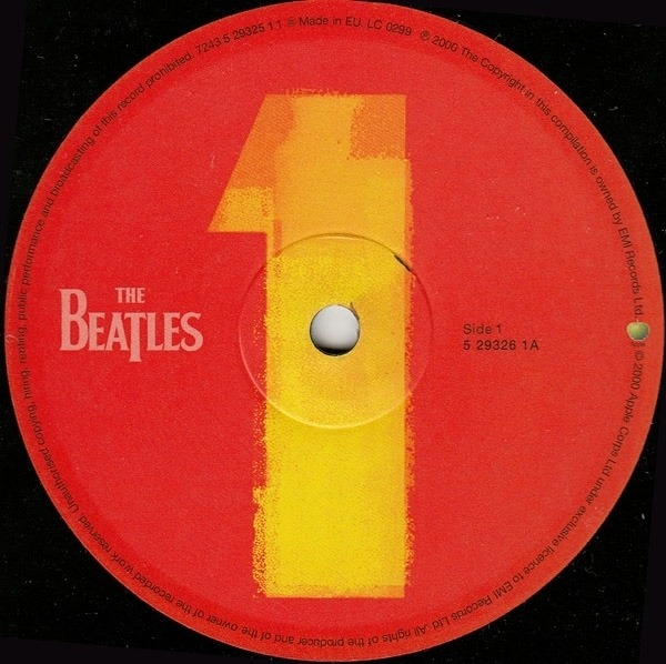 The Beatles 1 (+ POSTER + INSERTS)