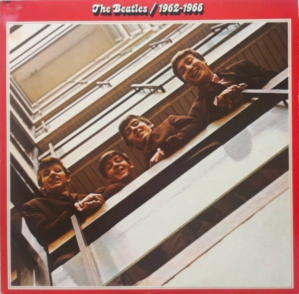 the beatles 1962 - 1966, red album (french contract pressing)