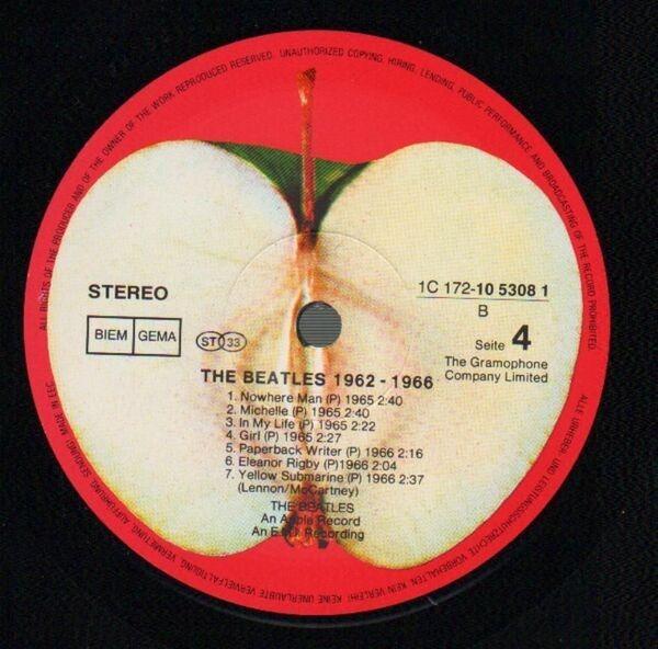 The Beatles 1962 - 1966, Red Album