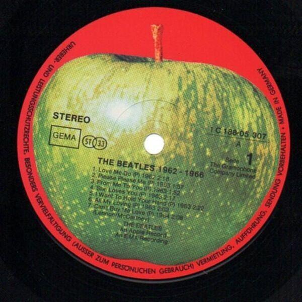 The Beatles 1962 - 1966, Red Album (CIRCLE)