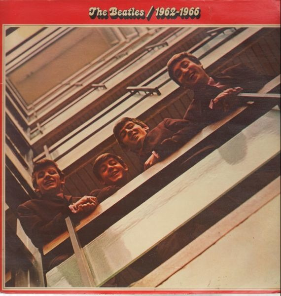The Beatles 1962 - 1966, Red Album (UK FIRST PRESS)
