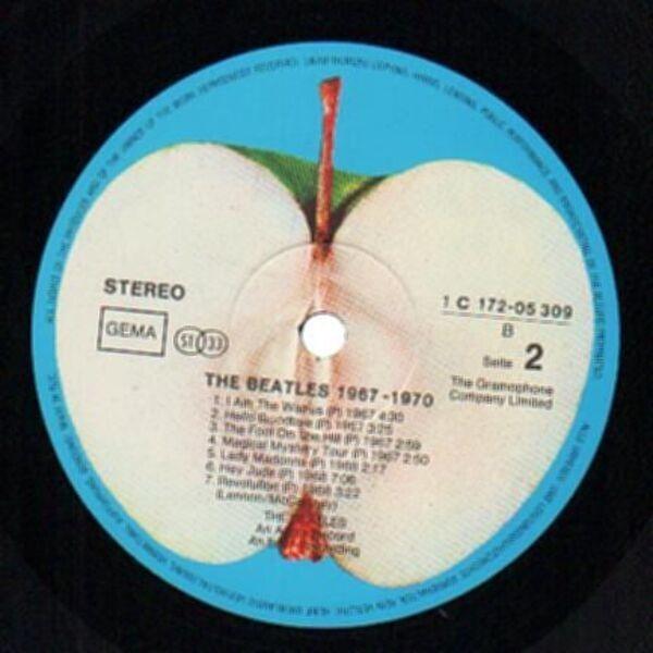 #<Artist:0x007f3b619922a0> - 1967 - 1970, Blue Album