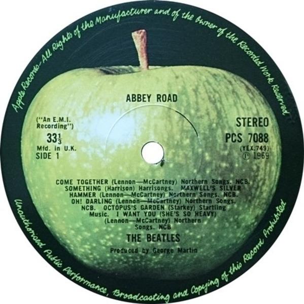The Beatles Abbey Road (UK)