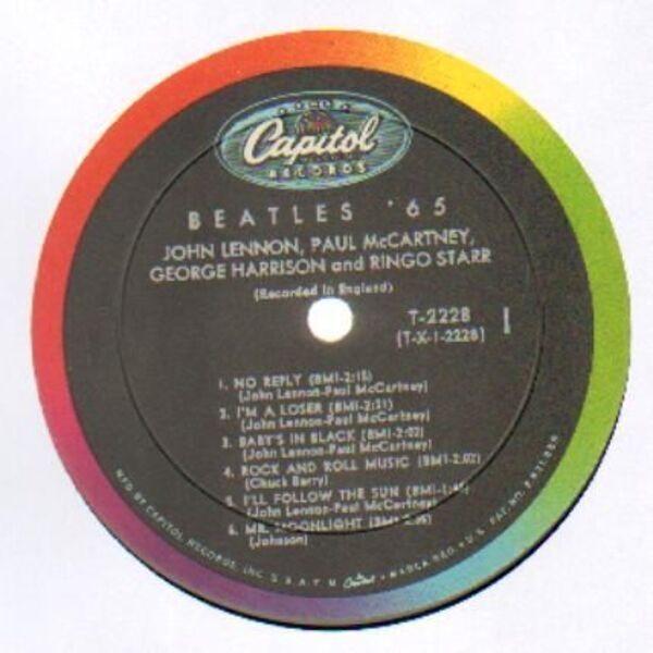 The Beatles Beatles '65 (US CAPITOL MONO)
