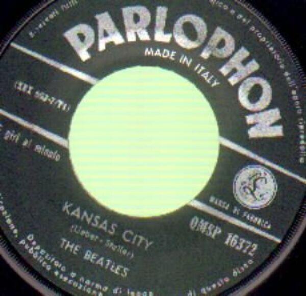 The Beatles I Feel Fine / Kansas City (RARE ITALIAN PRESS)