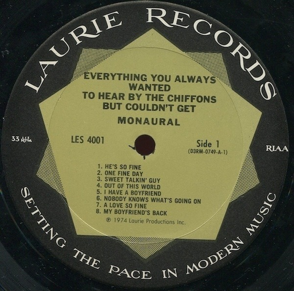 The Chiffons Everything You Always Wanted To Hear By The Chiffons But Couldn't Get (STILL SEALED)