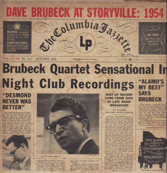 #<Artist:0x00000006d4f3e0> - Dave Brubeck At Storyville:  1954