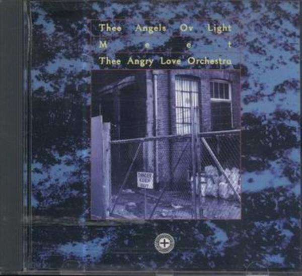 THEE ANGELS OV LIGHT MEET THEE ANGRY LOVE ORCHESTR - Psychick Youth Rally - CD