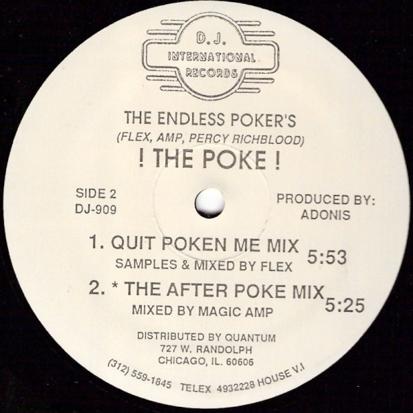 THE ENDLESS POKER'S - ! The Poke ! - 12 inch x 1
