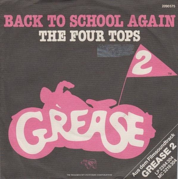 The Four Tops Back To School Again