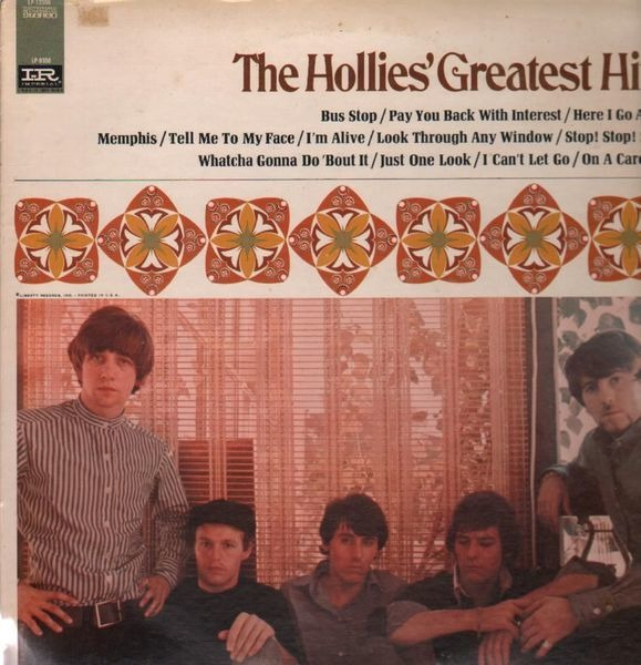 #<Artist:0x00007fdad40109a8> - The Hollies' Greatest Hits