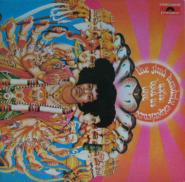 JIMI HENDRIX EXPERIENCE - Axis: Bold As Love - LP