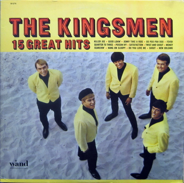 The Kingsmen 15 Great Hits