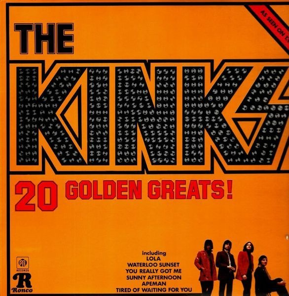 The Kinks 20 Golden Greats