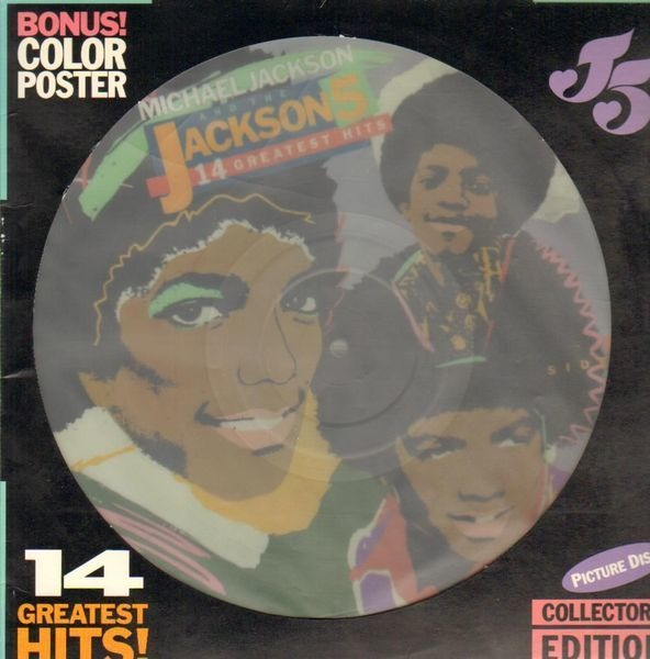 Michael Jackson And The Jackson 5 14 Greatest Hits (PICTURE DISC)