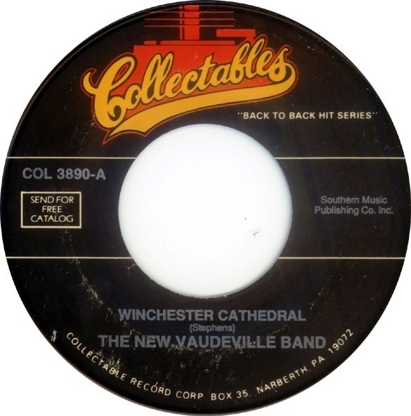 the new vaudeville band winchester cathedral / peek-a-boo