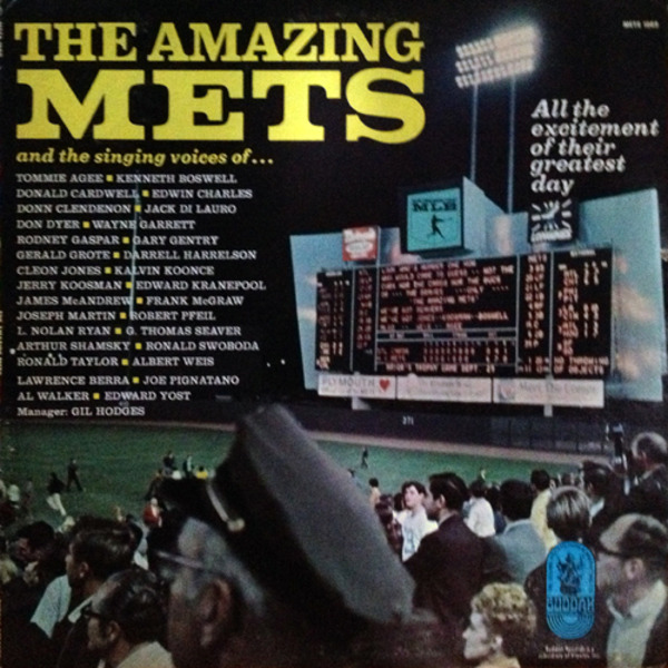 The New York Mets The Amazing Mets (SIGNED)