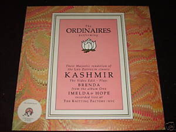 THE ORDINAIRES - Kashmir - Maxi x 1