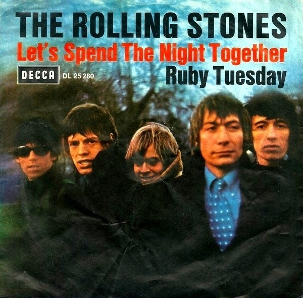 The Rolling Stones Let's Spend The Night Together / Ruby Tuesday (PICTURE SLEEVE)