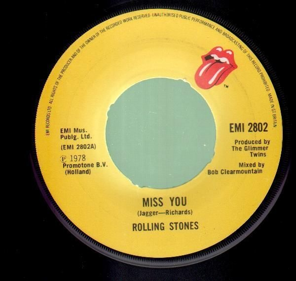 Rolling Stones - Miss You / Far Away Eyes CD