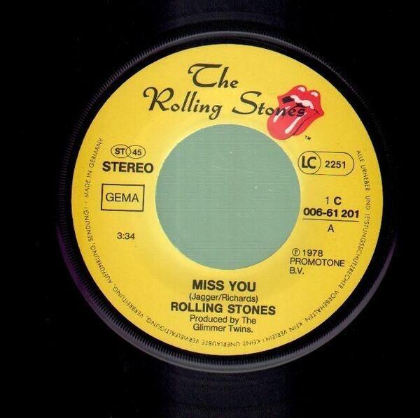 Rolling Stones - Miss You / Far Away Eyes