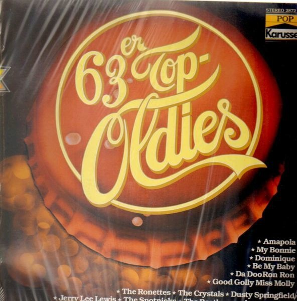 The Ronettes, The Crystals, Dusty Springfield a.o. 63er Top-Oldies