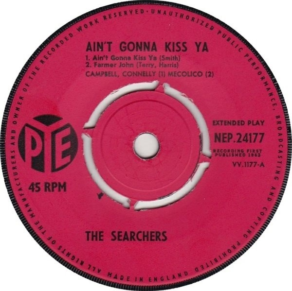 The Searchers Ain't Gonna Kiss Ya