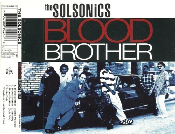 THE SOLSONICS - Blood Brother - CD Maxi