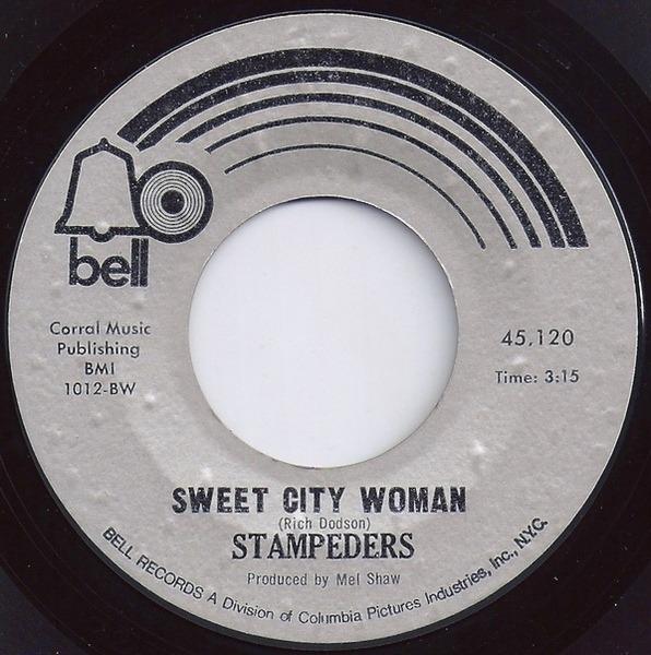Sweet City Woman / Gator Road - Stampeders