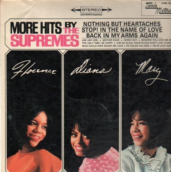 #<Artist:0x00007fd9012f3370> - More Hits by the Supremes
