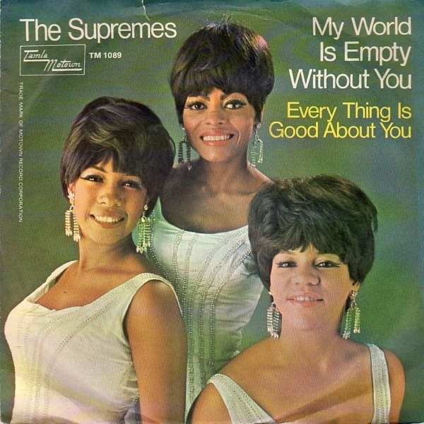 the supremes my world is empty without you