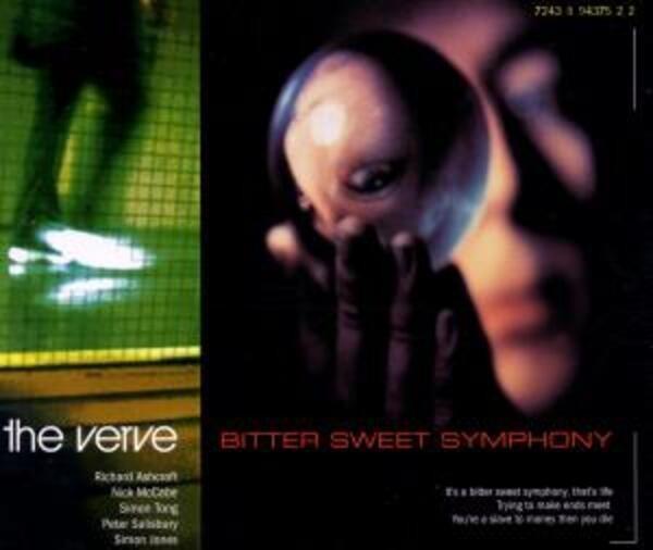 THE VERVE - Bitter Sweet Symphony - CD single