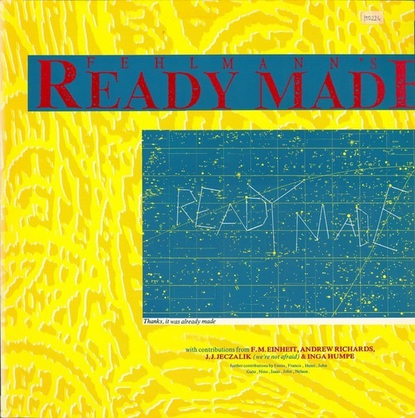 THOMAS FEHLMANN - Ready Made - 12 inch x 1
