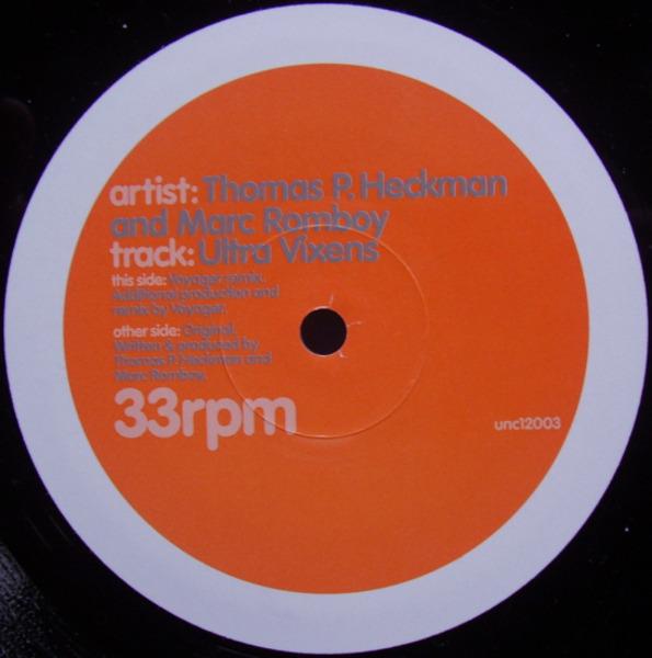 THOMAS P. HECKMANN & MARC ROMBOY - Ultra Vixens - 12 inch x 1