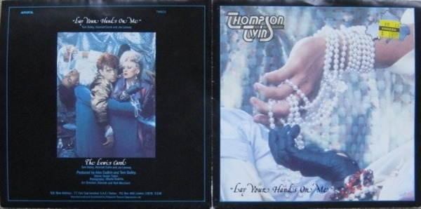 Thompson Twins Lay Your Hands On Me (POSTER SLEEVE)