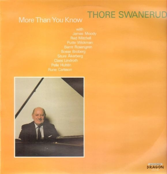 THORE SWANERUD - More Than You Know - 33T