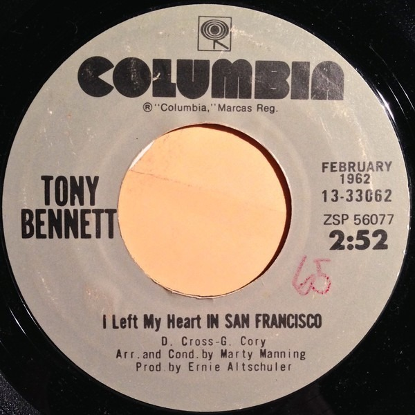 #<Artist:0x007fafb96cd098> - I Left My Heart in San Francisco