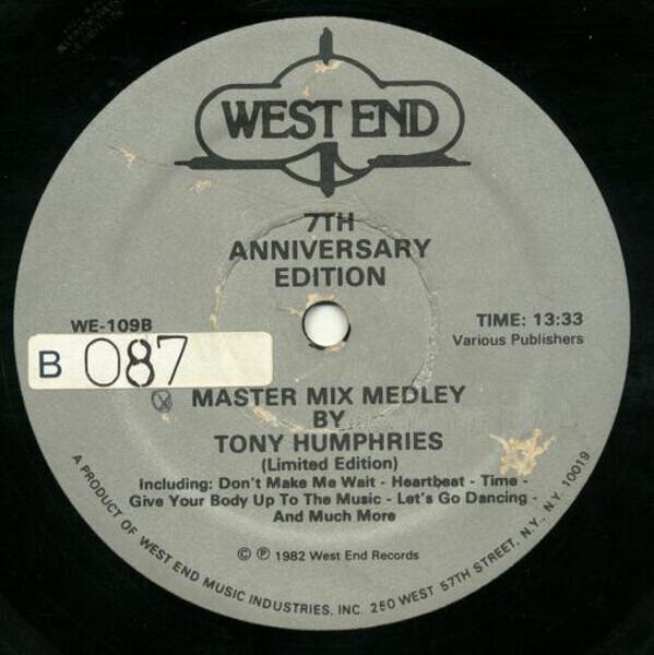 #<Artist:0x007f9547fc6a00> - Master Mix Medley - 7th Anniversary Edition