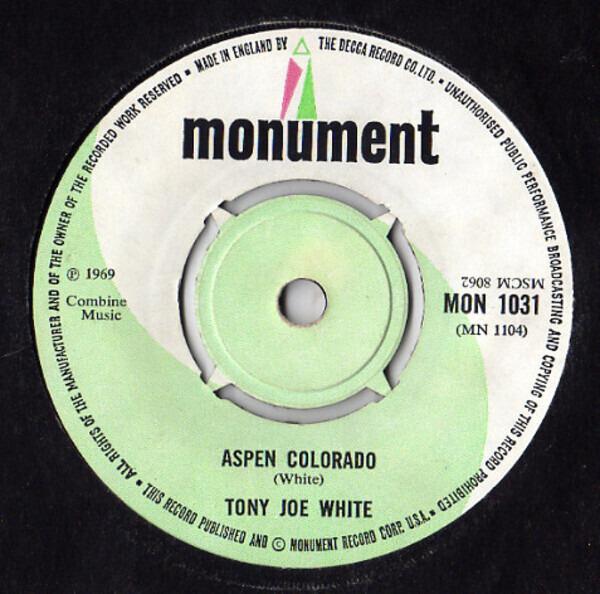 #<Artist:0x00007f81353ec638> - Polk Salad Annie / Aspen Colorado