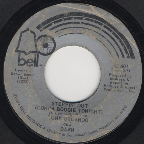 #<Artist:0x00007f4e156767a8> - Steppin' Out (Gonna Boogie Tonight) / She Can't Hold A Candle To You